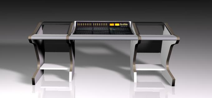 SINGLEDESK 40R custom control