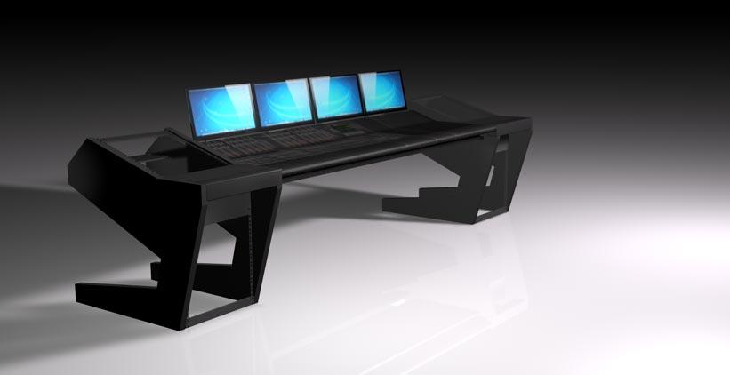 UNTERLASS DUODESK 60 console mit integrierter Yamaha Nuage Konsole, gerade Bauform