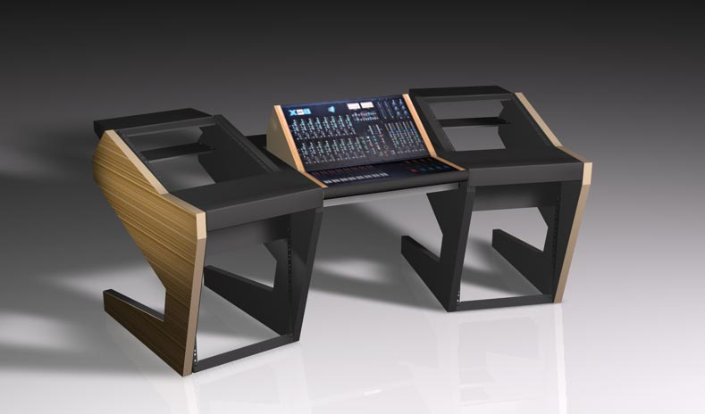 UNTERLASS DUODESK 60 console with integrated API The Box console