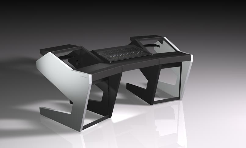 UNTERLASS DUODESK 60 console mit integriertem AVID S3 Controller