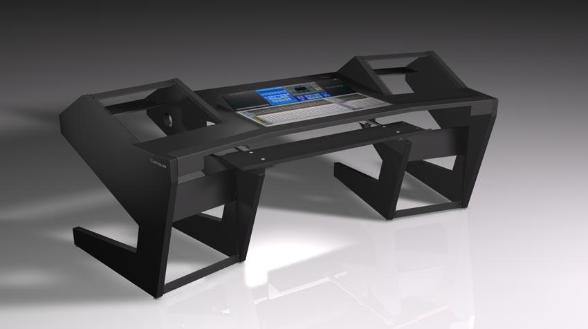 UNTERLASS DUODESK KEY 60 console mit integrierter Presonus StudioLive 32 Konsole